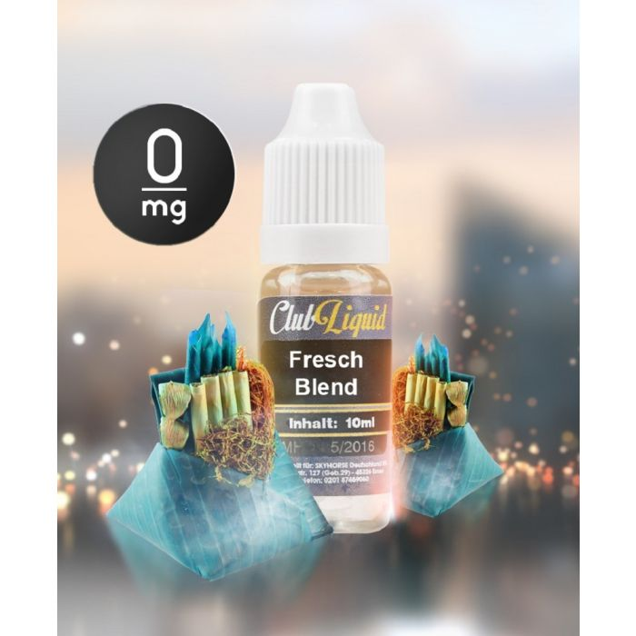 CLUB-Liquid Fresh Blend (10 ml)