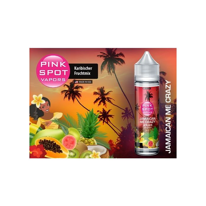 Jamaican Me Crazy Shake and Vape eLiquid 50 ml Pink Spot