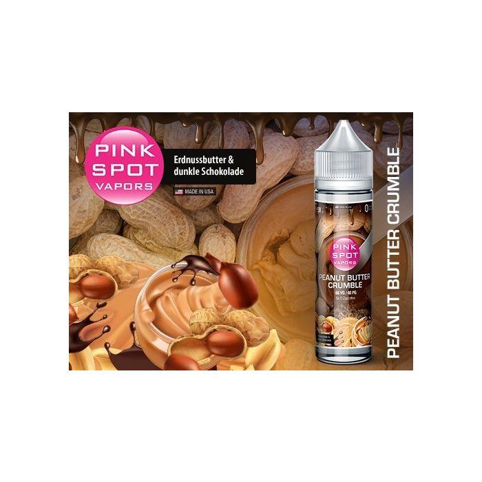 Peanut Butter Crumble Shake and Vape eLiquid 50 ml Pink Spot