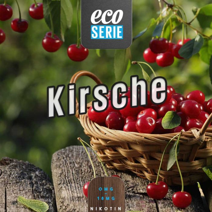ECO-Liquid Kirsche 5 x 10 ml