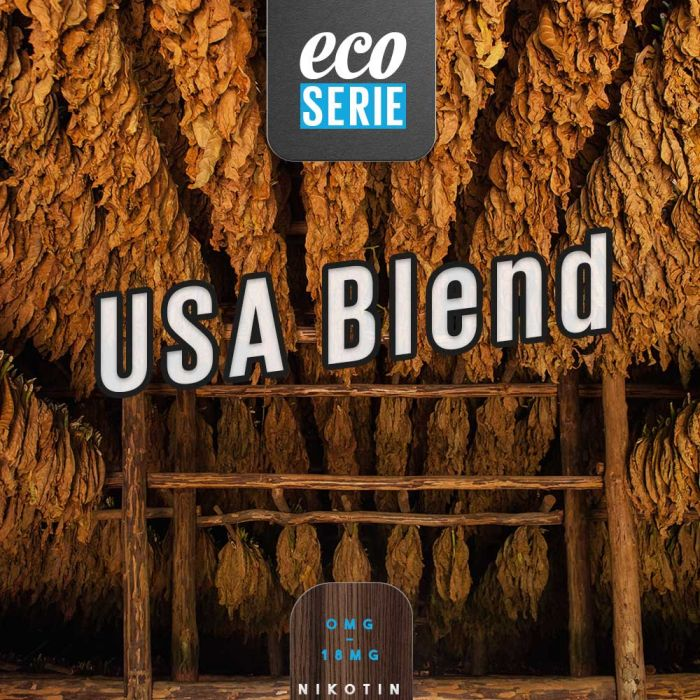 ECO-Liquid USA Blend 5 x 10 ml