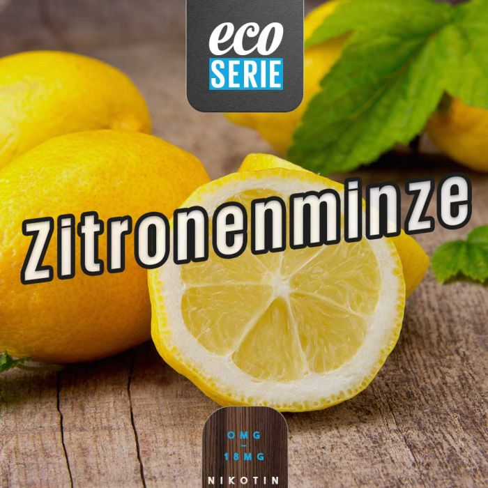 ECO-Liquid Zitronenminze 5 x 10 ml